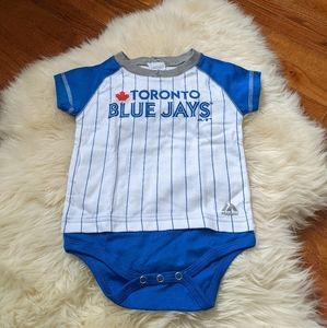 4/$25 new Toronto blue jays onesie
